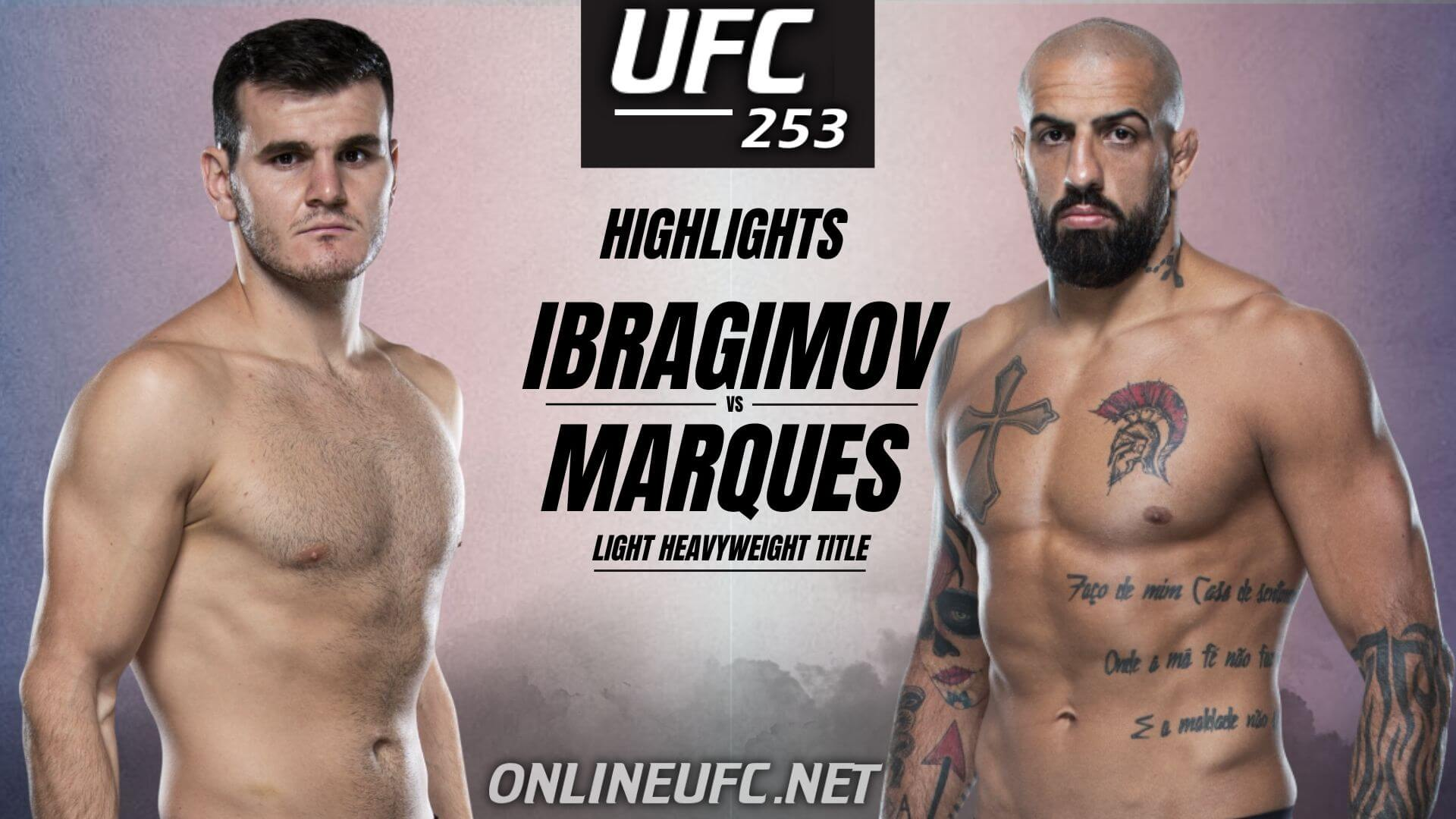 Khadis Ibragimov Vs Danilo Marques Highlights 2020