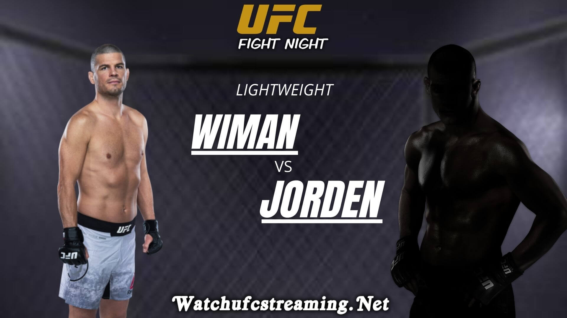 Matt Wiman Vs Jordan Leavitt Live Stream 2020 | Lightweight slider
