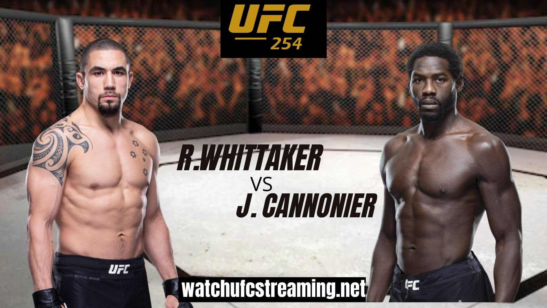 R. Whittaker Vs J. Cannonier Highlights 2020 | UFC 254