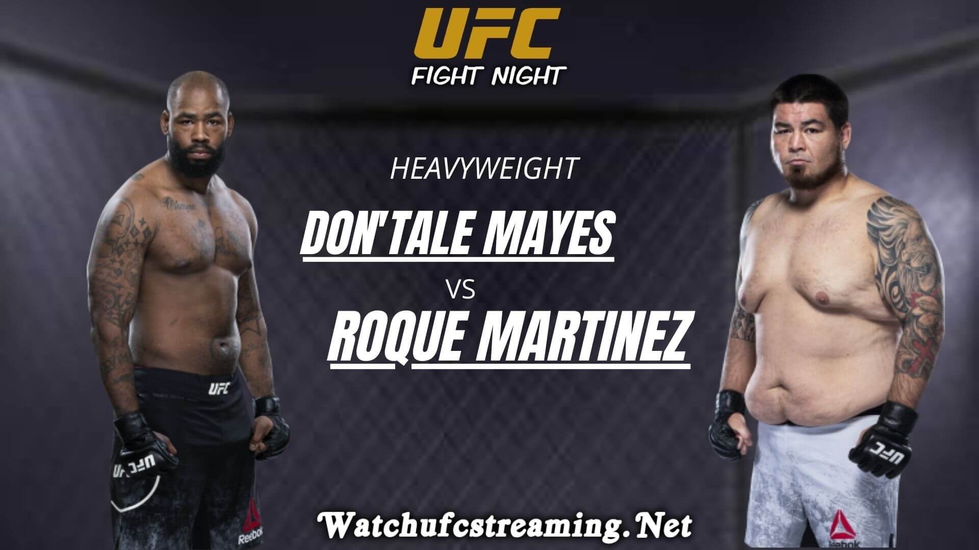 DonTale Mayes Vs Roque Martinez Highlights 2020 | UFC Fight Night