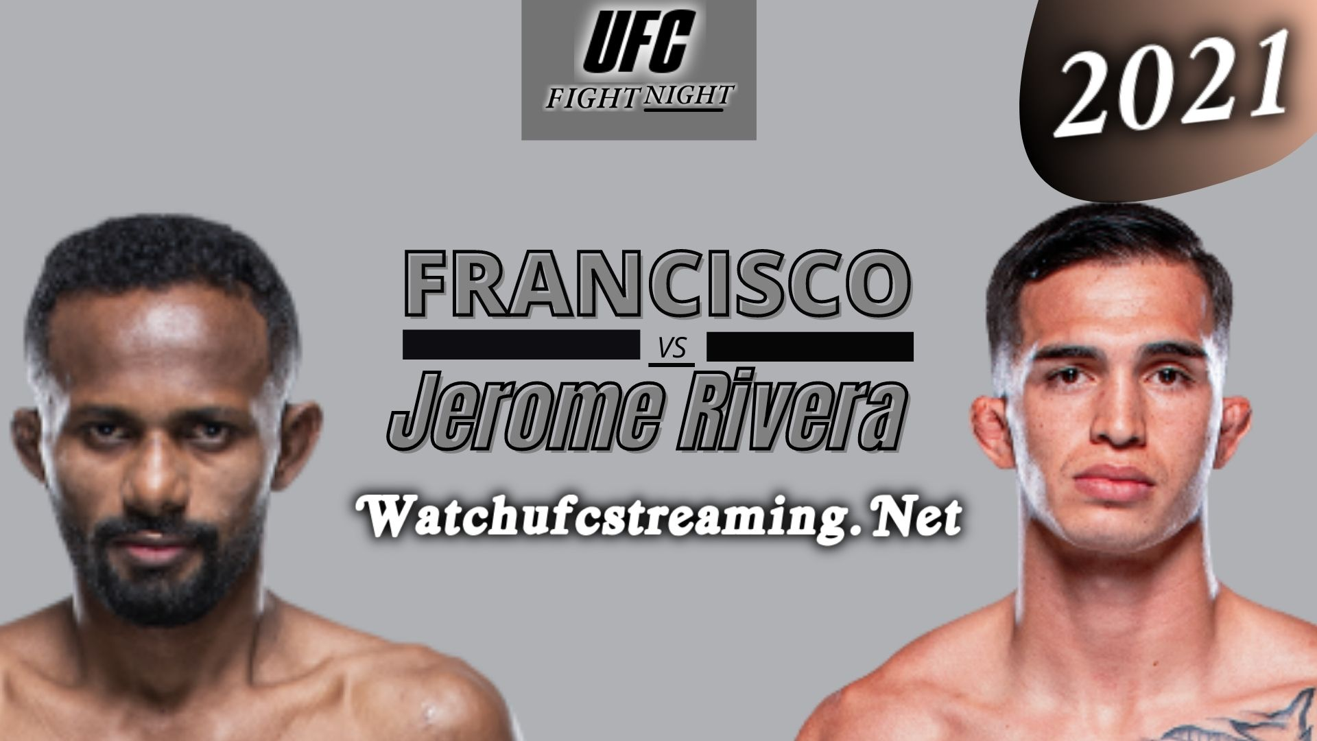 UFC Fight Night : Francisco Figueiredo Vs Jerome Rivera Highlights 2021