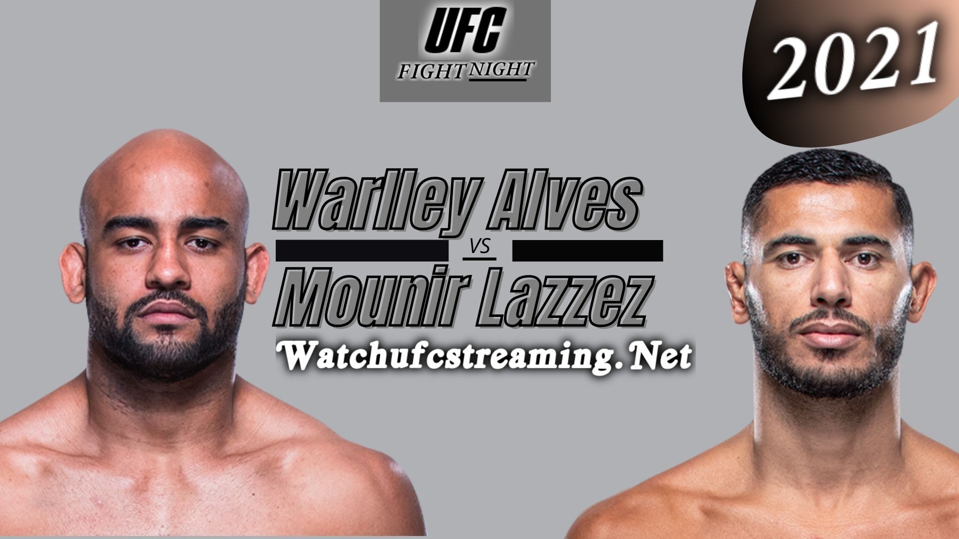 UFC Fight Night Warlley Alves Vs Mounir Lazzez - Highlights 2021