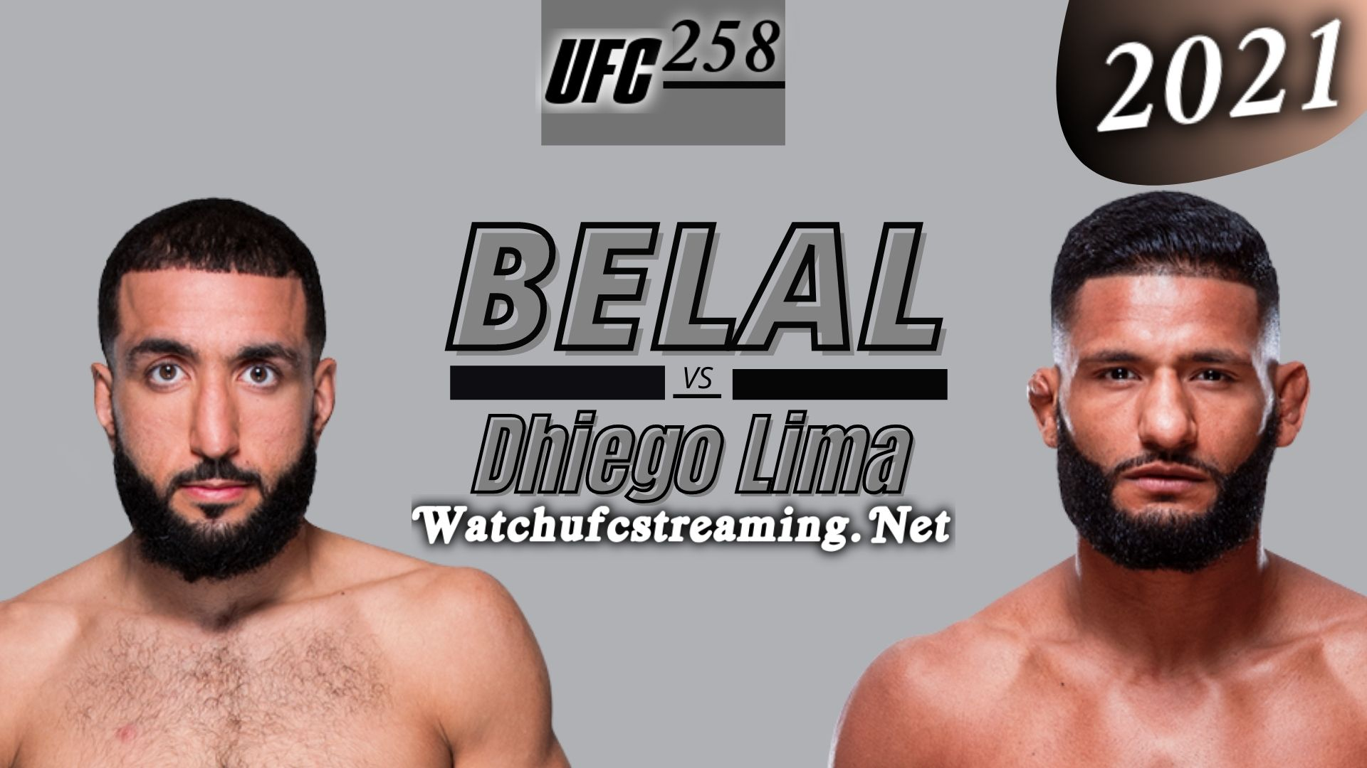 UFC 258 : Belal Muhammad Vs Dhiego Lima Highlights 2021