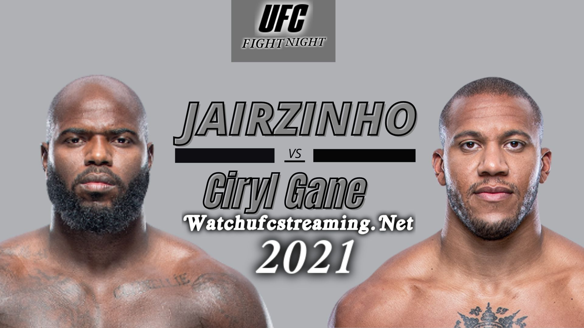 UFC - Jairzinho Rozenstruik Vs Ciryl Gane Highlights 2021 | Heavyweight