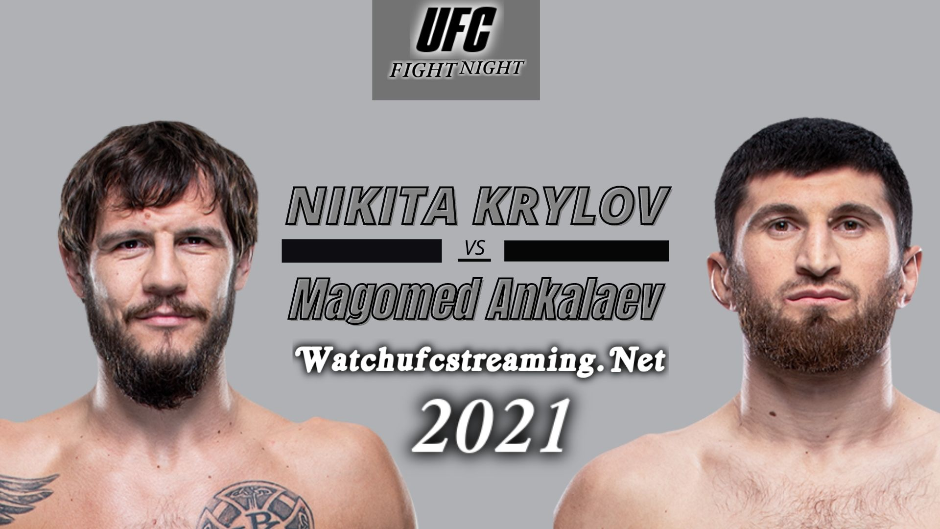 UFC - Nikita Krylov Vs Magomed Ankalaev Highlights 2021 | Heavyweight