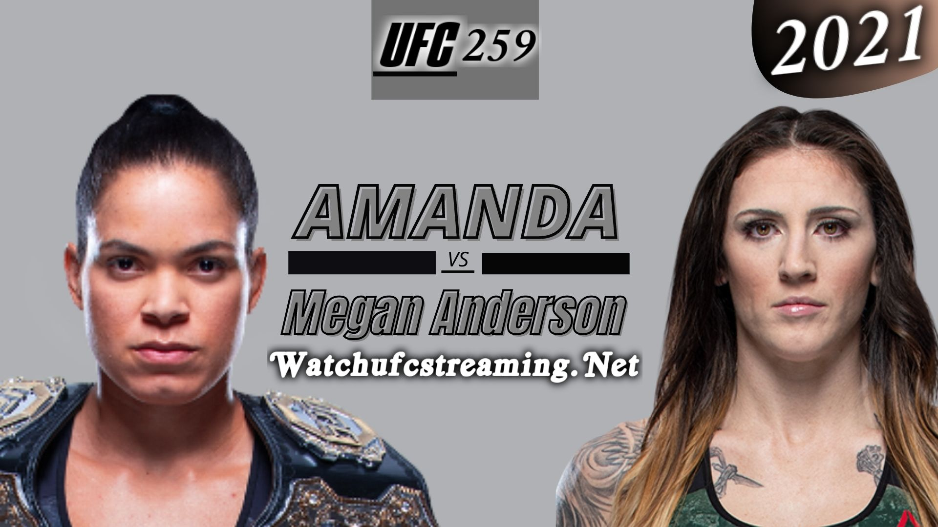 UFC 259: Amanda Nunes Vs Megan Anderson Highlights 2021 | Featherweight