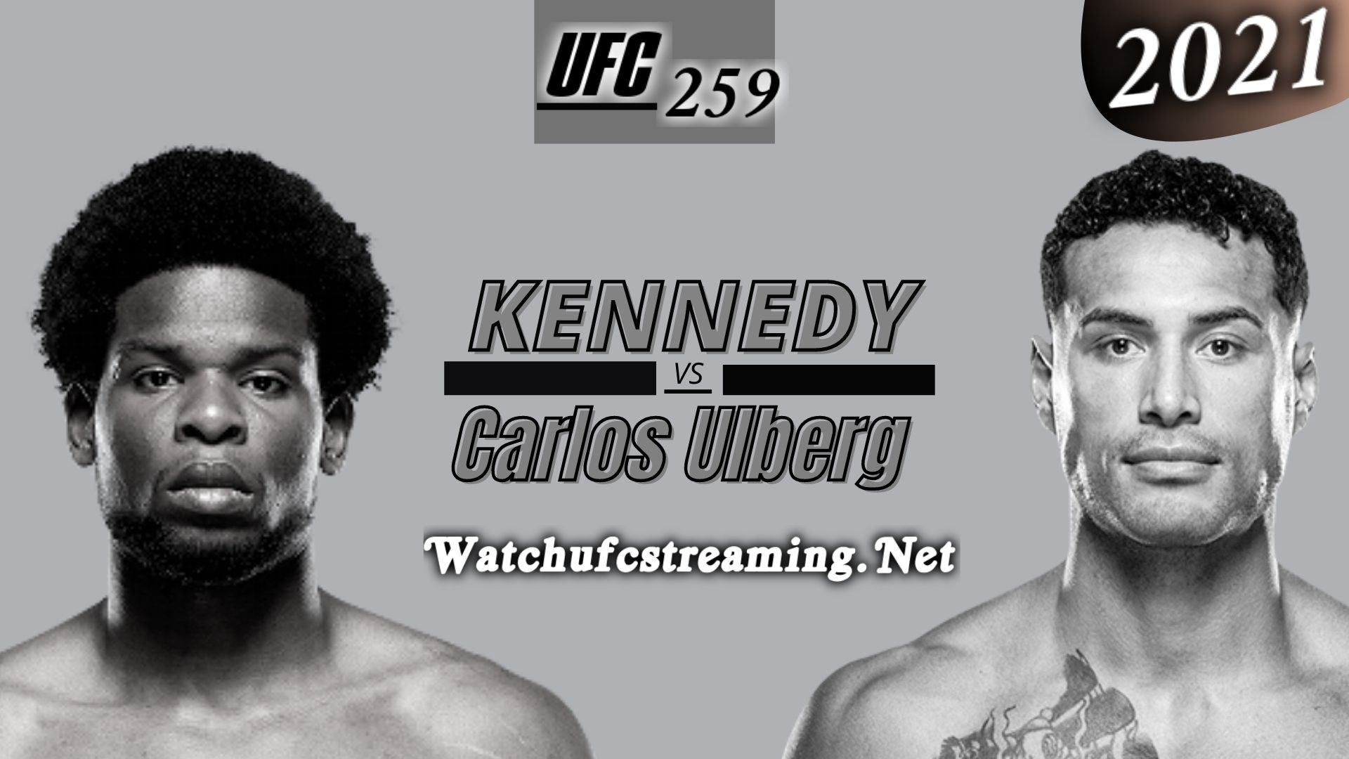 UFC 259: Kennedy Nzechukwu Vs Carlos Ulberg Highlights 2021 | Light Heavyweight