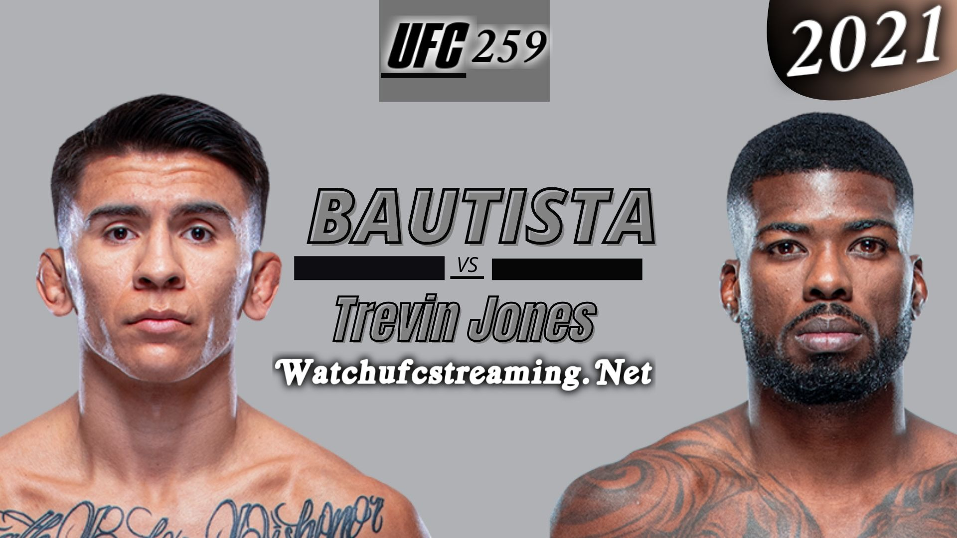 UFC 259: Mario Bautista Vs Trevin Jones Highlights 2021 | Flyweight