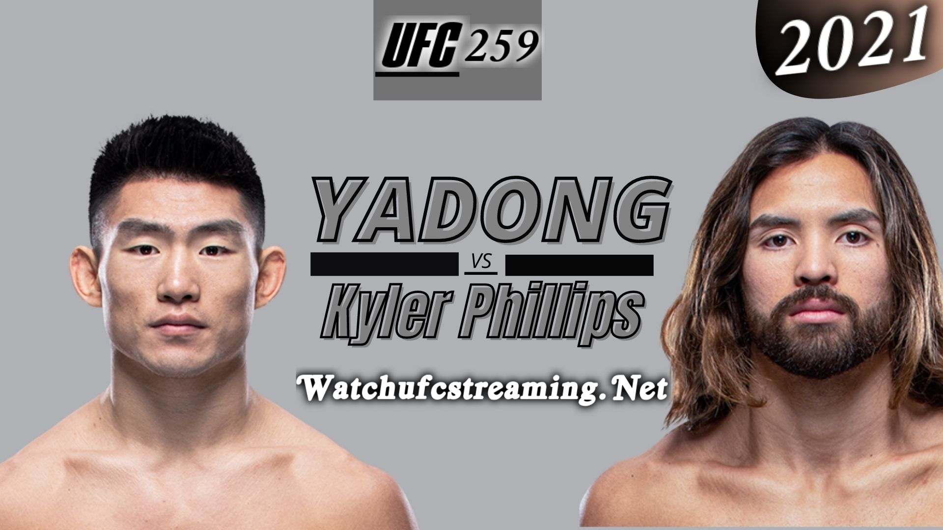 UFC 259: Song Yadong Vs Kyler Phillips Highlights 2021 | Bantamweight