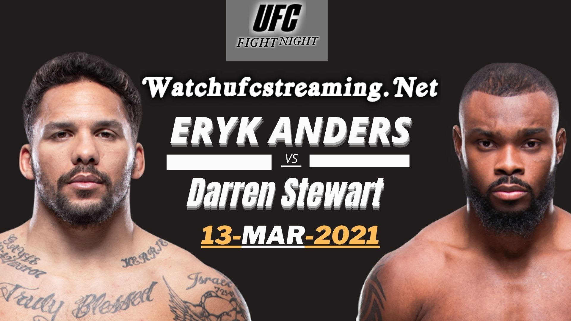 UFC | Eryk Vs Stewart Highlights 2021 - Middleweight