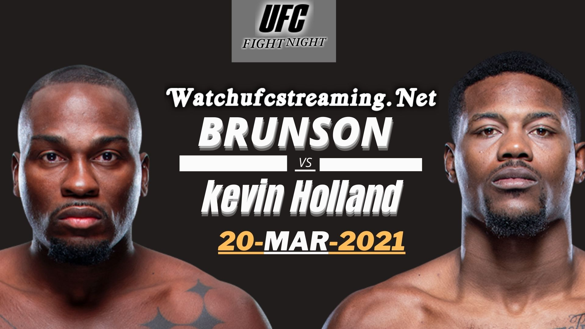 Derek Brunson Vs Kevin Holland Highlights 2021 | UFC Fight Night