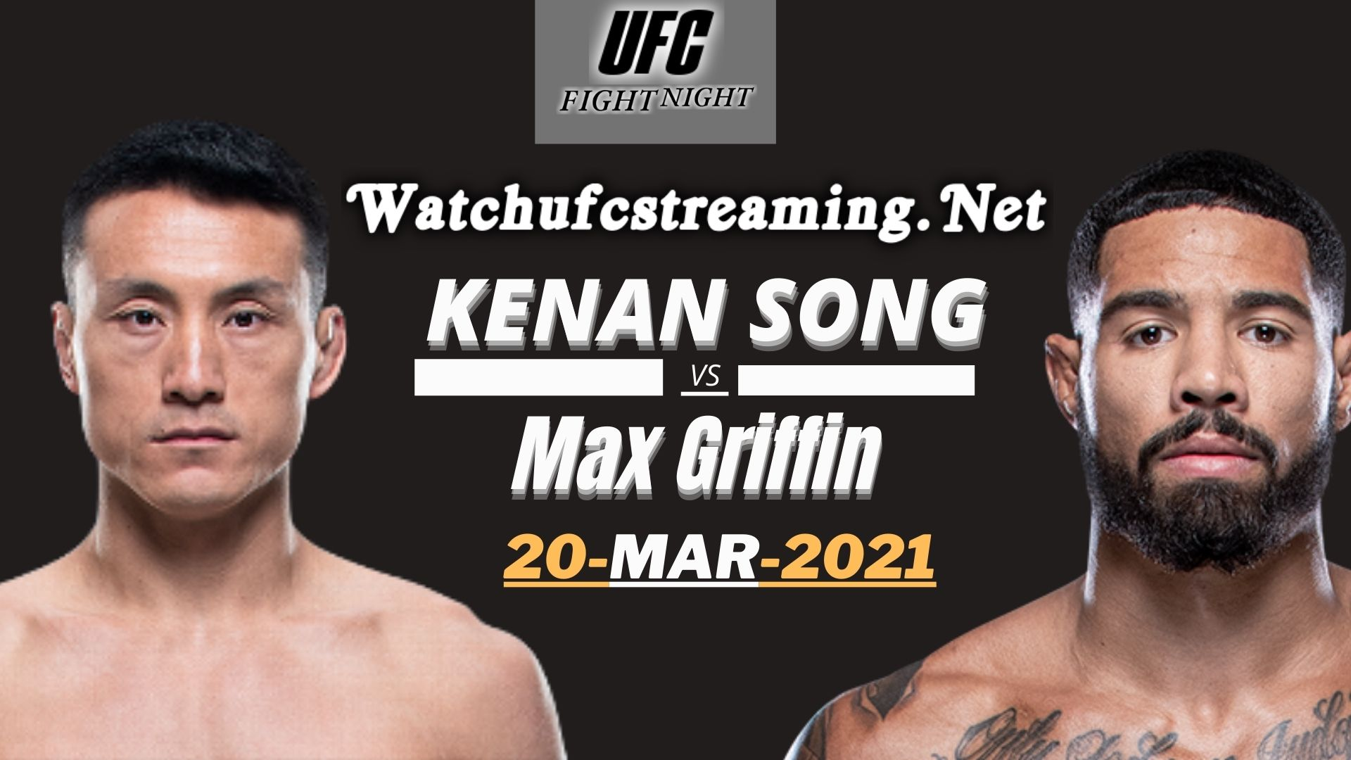 Kenan Song Vs Max Griffin Highlights 2021 | UFC Fight Night