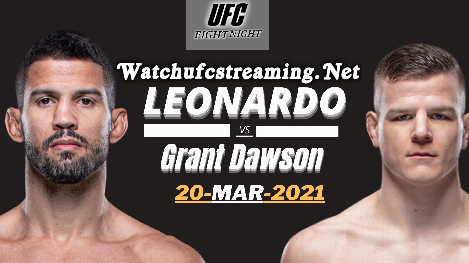 Leonardo Santos Vs Grant Dawson Highlights 2021 | UFC Fight Night