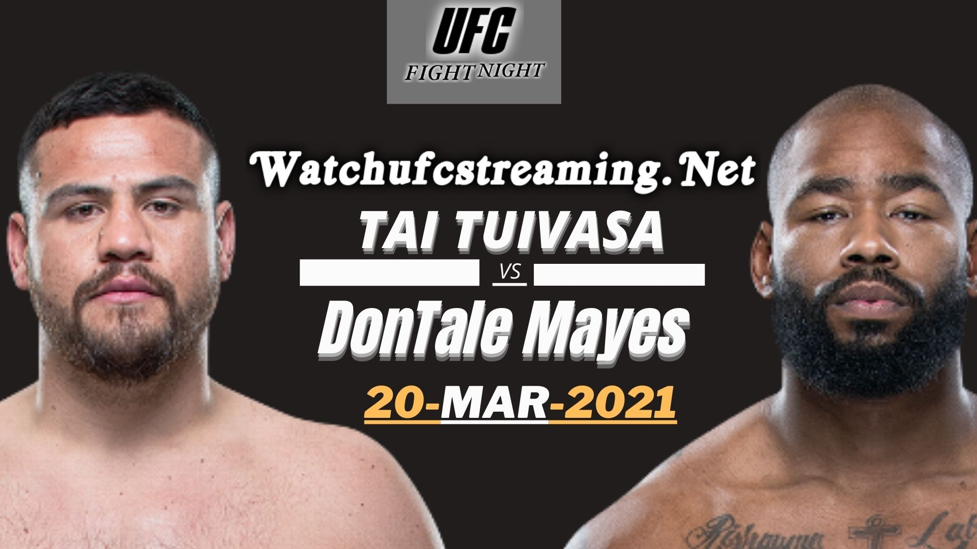 Tai Tuivasa Vs DonTale Mayes Highlights 2021 | UFC Fight Night