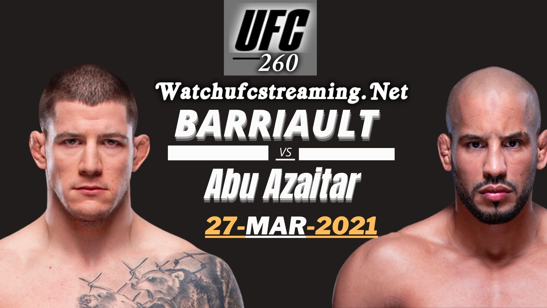 Highlights UFC 260 Barriault Vs Azaitar 2021