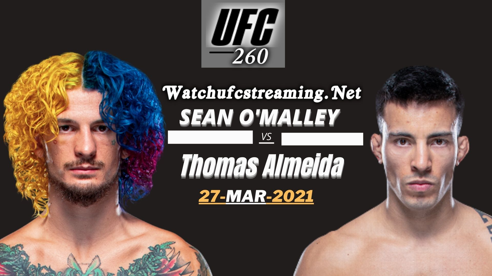 Highlights UFC 260 Malley Vs Almeida 2021