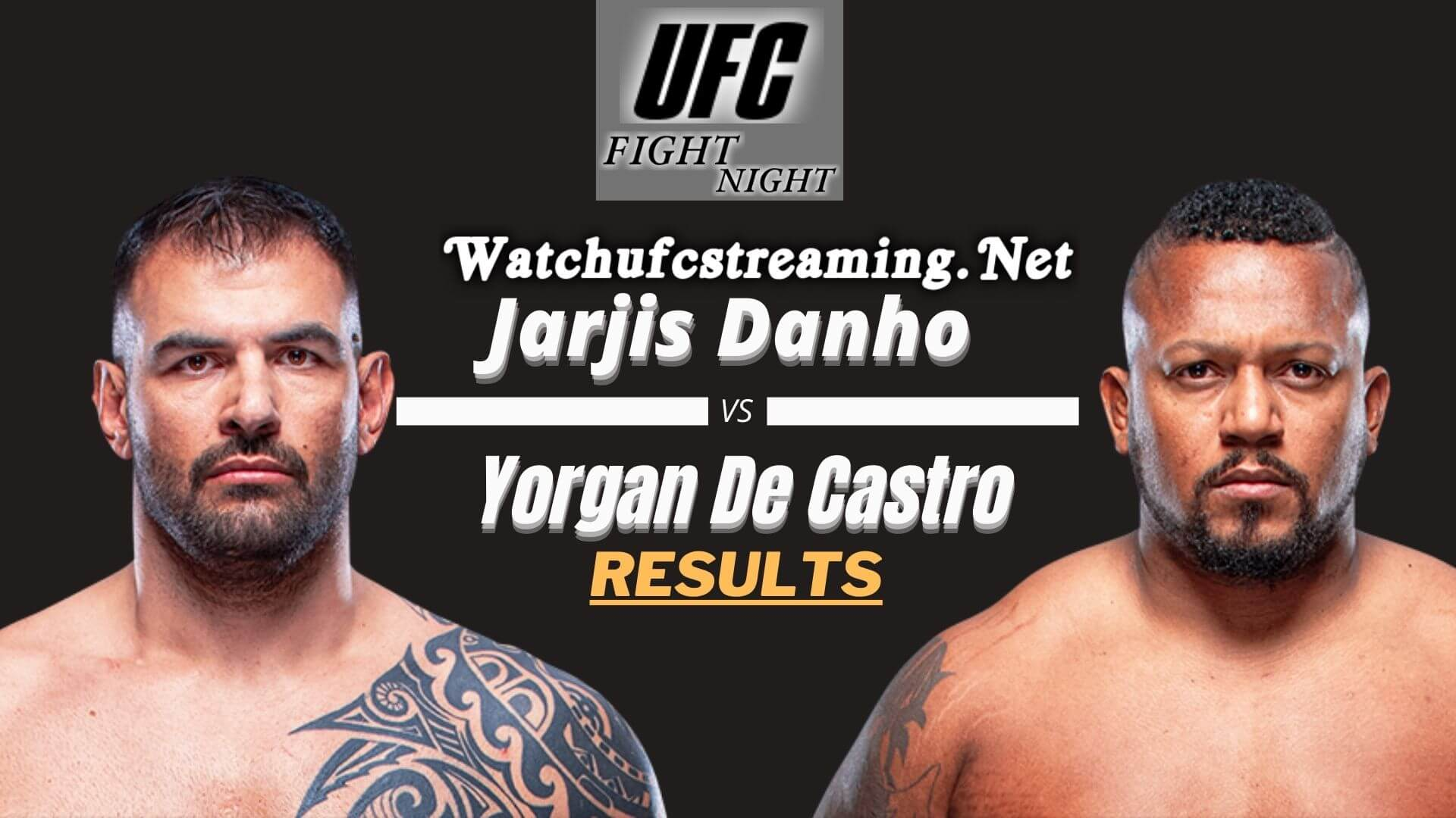 Danho Vs Castro Result 2021 | Fight Night 188