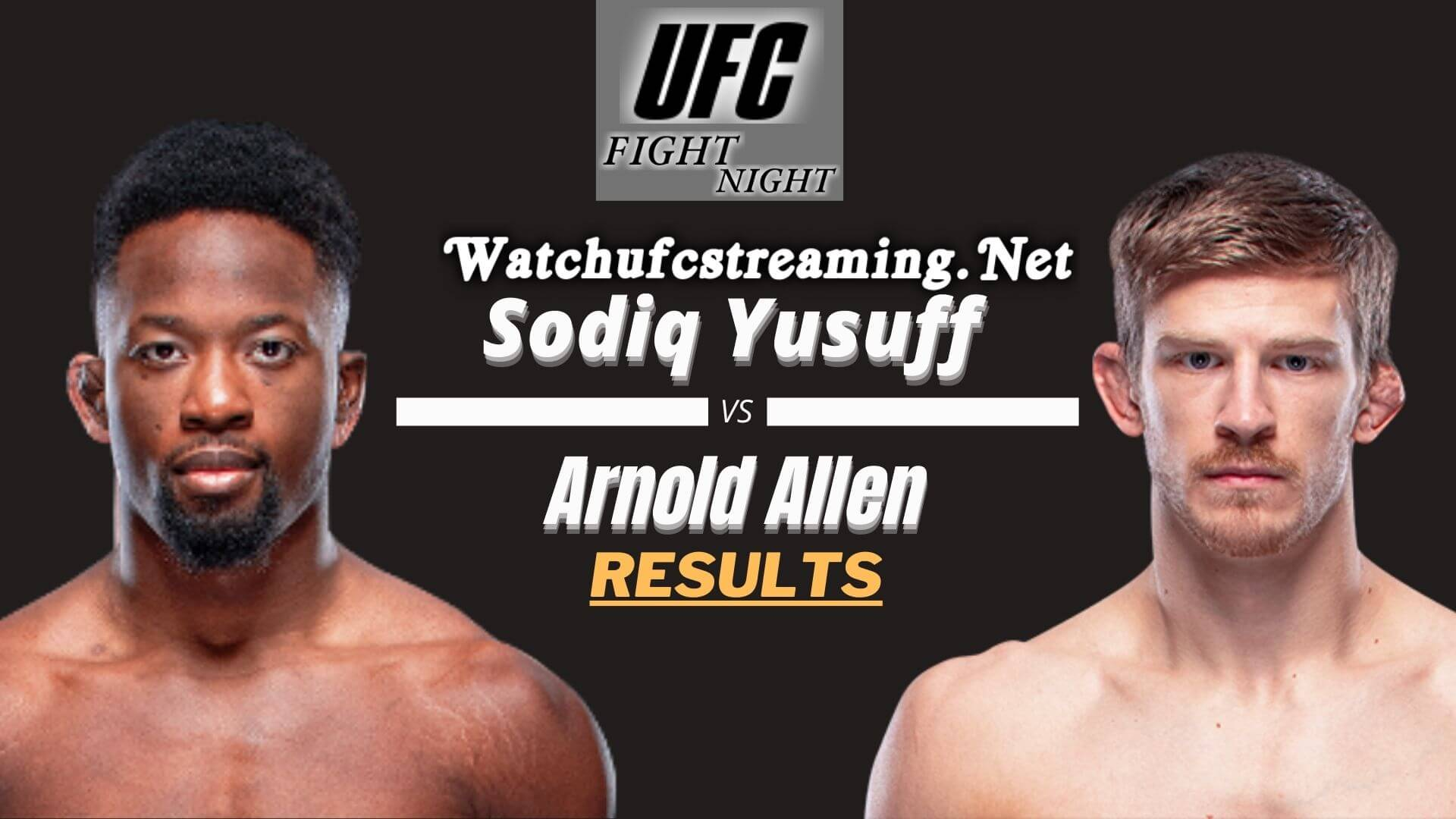 Yusuff Vs Allen Result 2021 | Fight Night 188